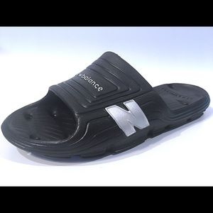 New Balance Float Slide Lightweight White Casual Sport Sandals Mens Size 13